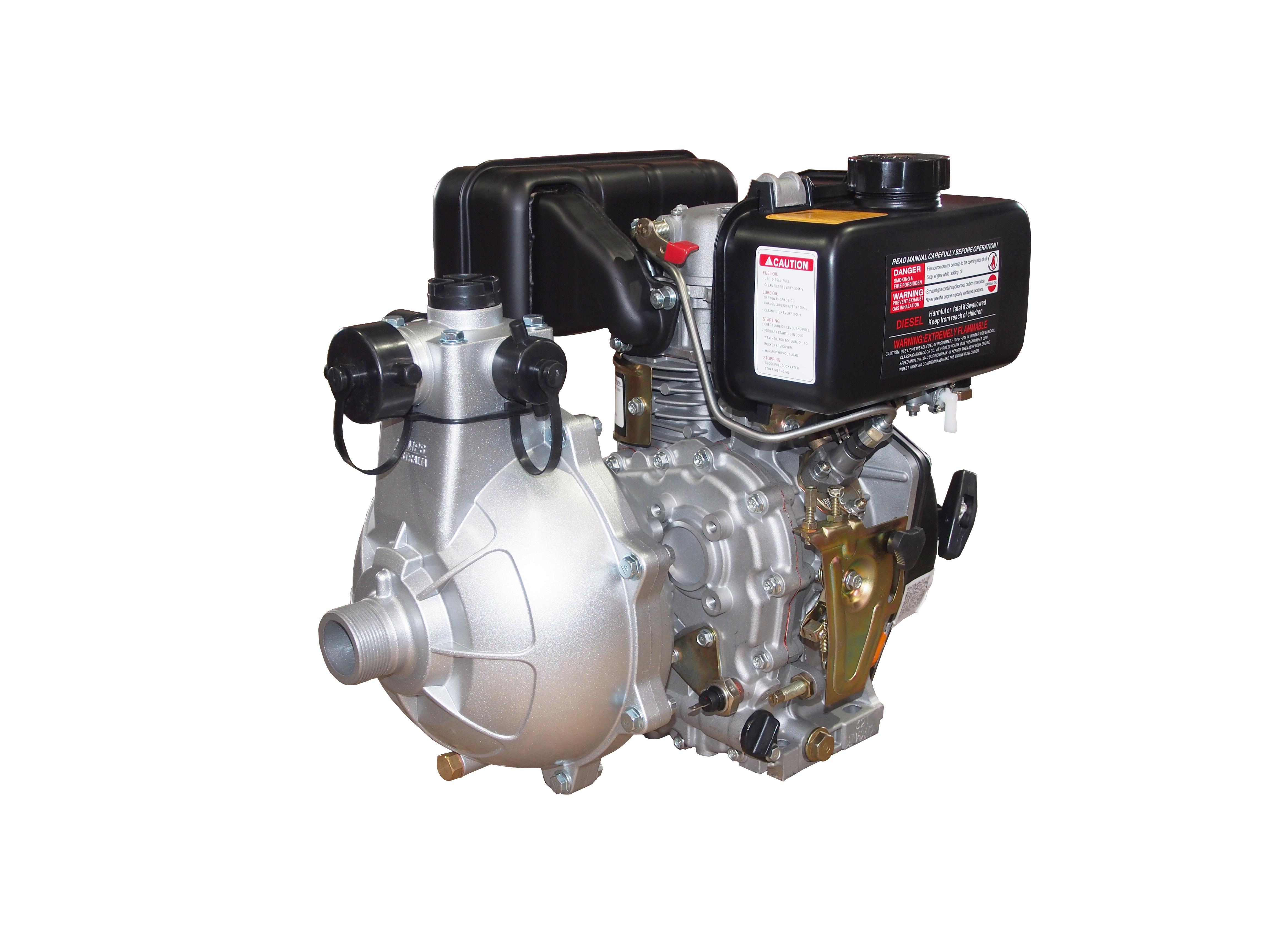 Diesel Powered Firefighter Pump (HP15KP40R)