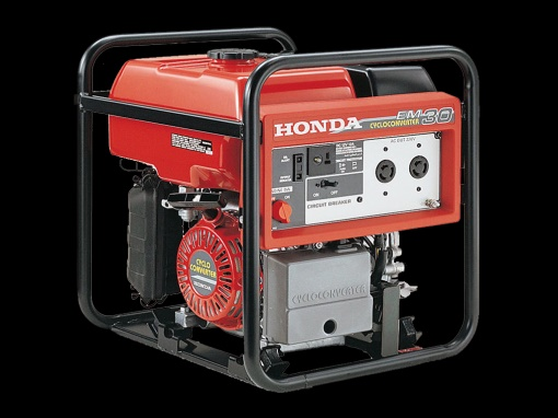 HONDA EM30 3KVA GENERATOR COMPACT AND IDEAL FOR TRADIE