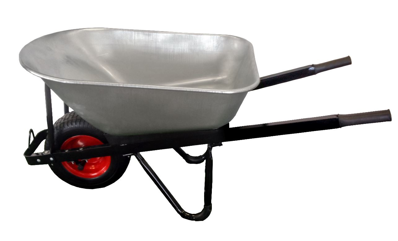 Wheelbarrow Galvanised Steel Tray