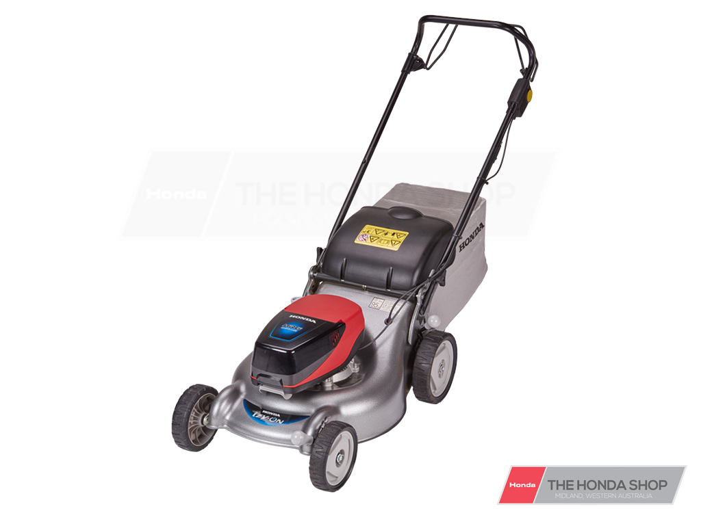 HONDA HRG466 BATTERY POWERED SELF PROLLED LAWNMOWER. PERTH STORE ONLY